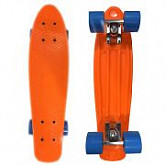 Penny board (пенни борд) Display Orange/blue