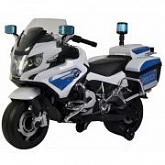 Электромобиль-каталка Chi Lok bo BMW R-1200 white/blue