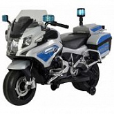Электромобиль-каталка Chi Lok bo BMW R-1200 grey/blue