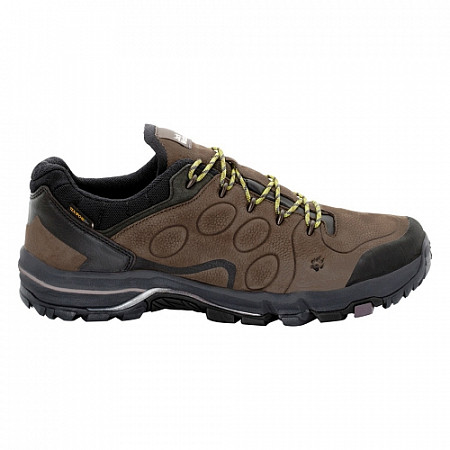Полуботинки мужские Jack Wolfskin Altiplano Prime Texapore Low M 4022291 brown