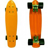 Penny board (пенни борд) Display Orange/black