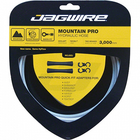 Набор гидролинии Jagwire Mountain Pro Hydraulic Hose Kit, white, HBK402