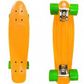 Penny board (пенни борд) Display Orange/green