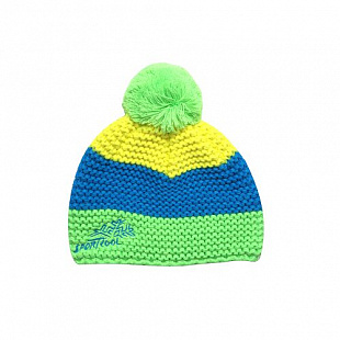Шапка детская SportCool 44/3 Green/Blue/Yellow