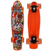 "Penny board (пенниборд) RGX 206 PNB-07 22"" LED"