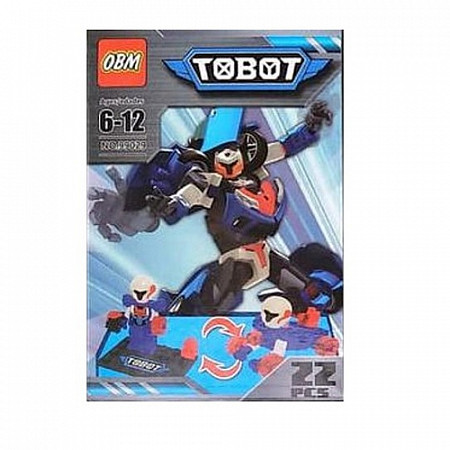 Трансформер Tobot 99029 Blue/Red/White