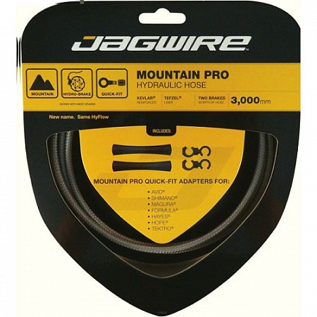 Набор гидролинии Jagwire Mountain Pro Hydraulic Hose Kit Stealth, black, HBK416