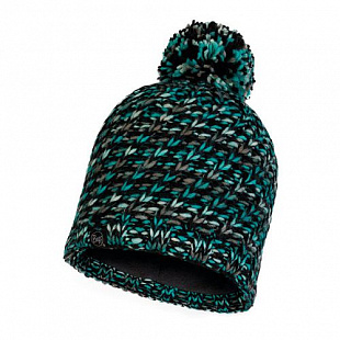 Шапка Buff Knitted&Polar Hat Valya Turquoise