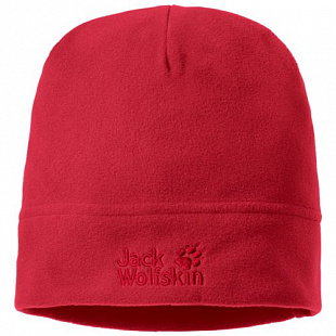 Шапка Jack Wolfskin Real Stuff red lacque