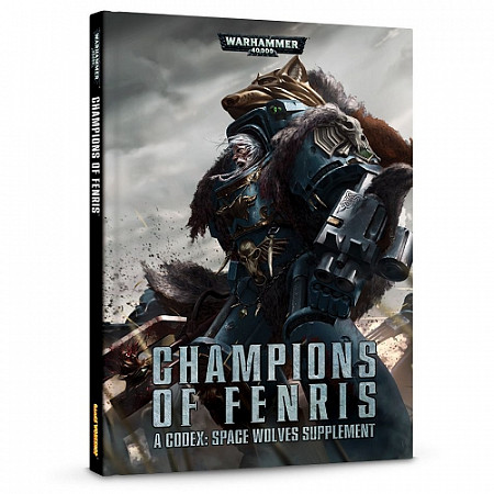 Книга Games Workshop Warhammer Champions Of Fenris