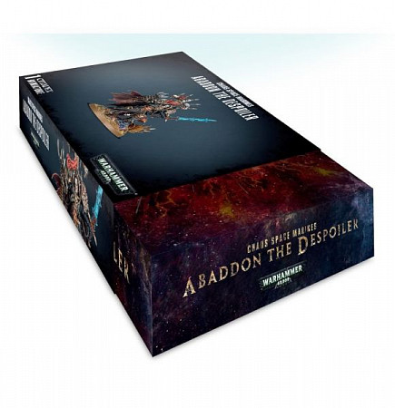 Миниатюры Games Workshop Warhammer Chaos Space Marines Abaddon the Despoiler 43-60