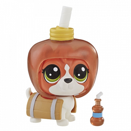 Фигурка Hasbro Littlest Pet Shop Пет в напитке 3 E5479