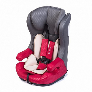 Автокресло BabyHit Fix One LB-523 Isofix red/gray