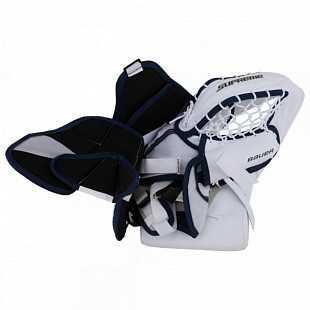 Ловушка вратаря Bauer Supreme S170 Sr White/Blue