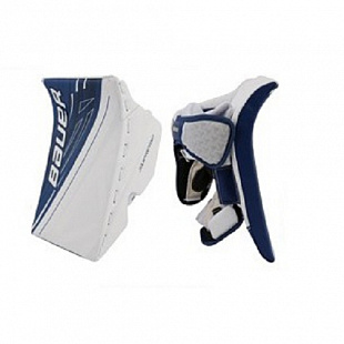 Блин вратаря Bauer Supreme S190 Sr White/Blue