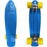 Penny board (пенни борд) Display Blue/yellow