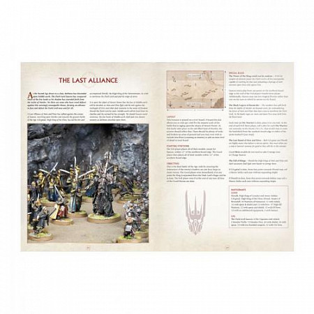 Миниатюры Games Workshop Warhammer armies of the lord of the rings ENG