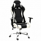 Офисное кресло Lucaro Racer Exclusive Black White