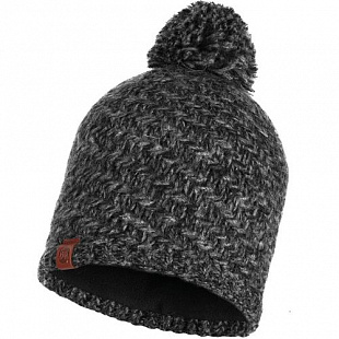 Шапка Buff Knitted&Polar Hat Agna Black